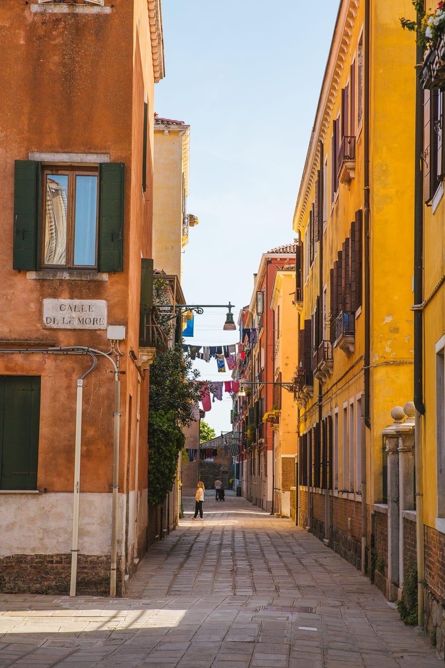 Ruelle Giudecca Venise
