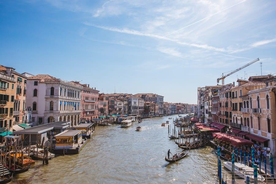 Vue du Pont de l'Académie Venise