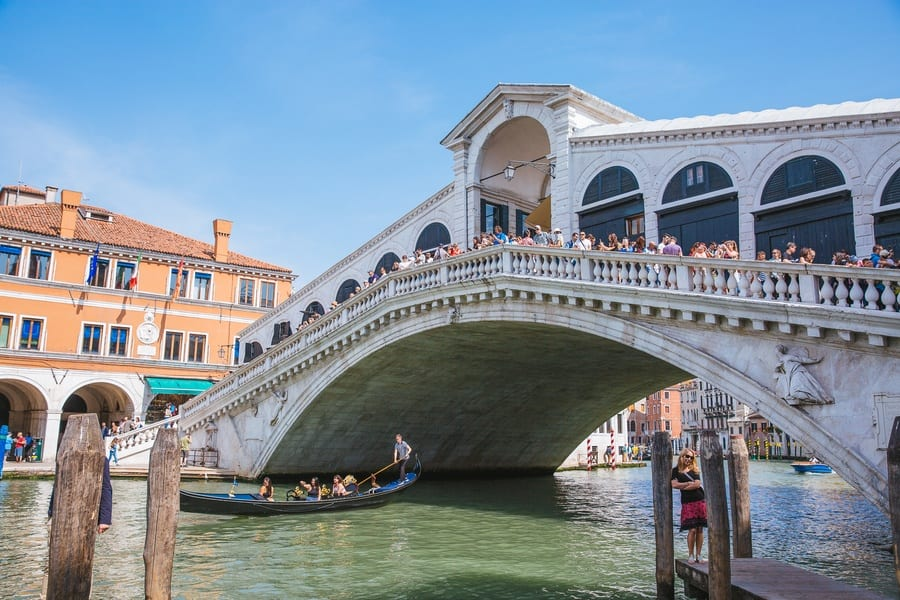 Pont du Rialto San Polo Venise