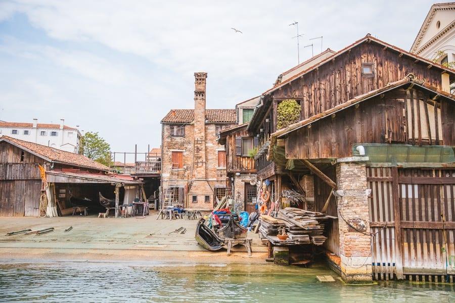 Squero di San Trovaso Venise