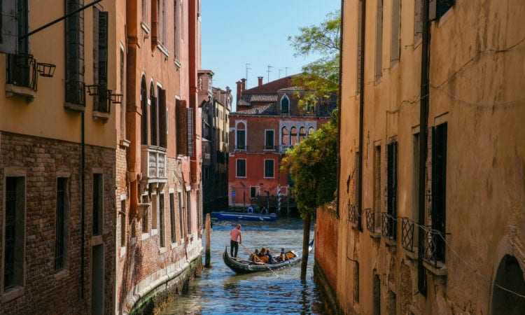 Gondole à Cannaregio Venise
