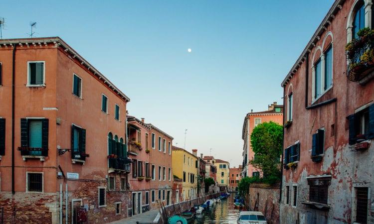 Canal dans Cannaregio Visiter Venise