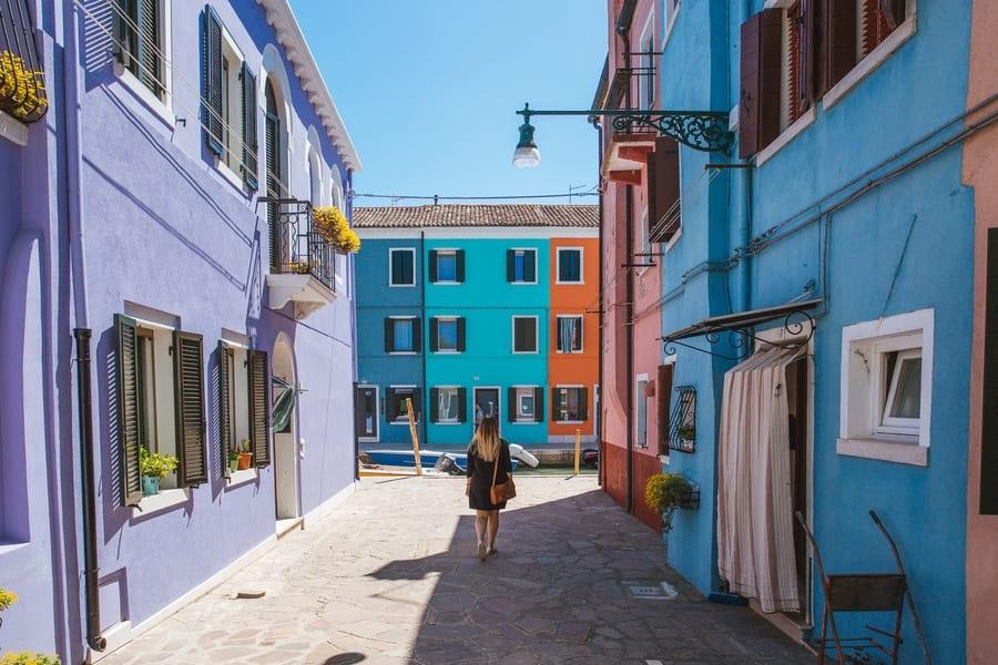 Ruelle Burano Venise