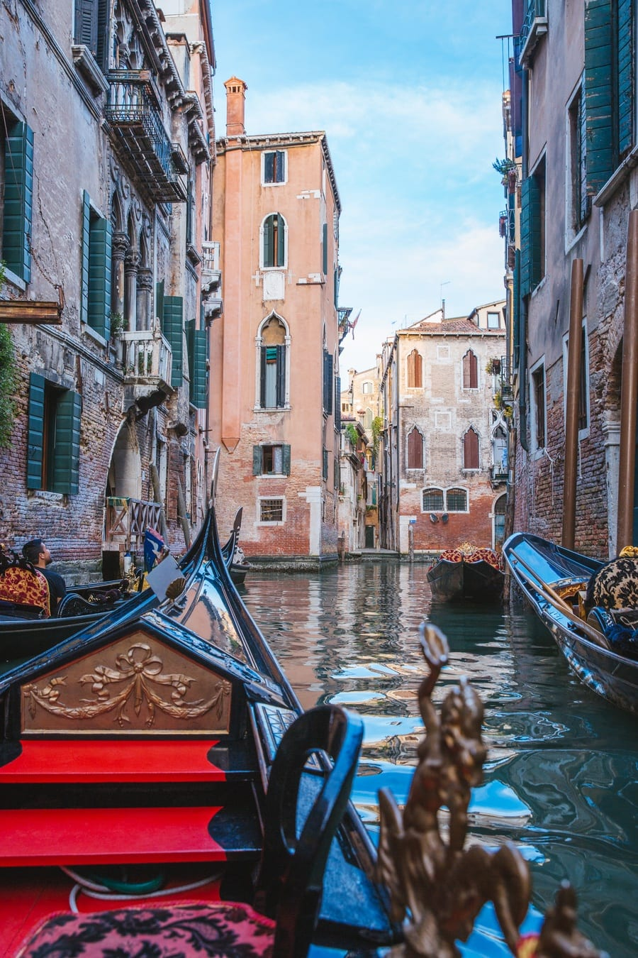 Balade en gondole Venise