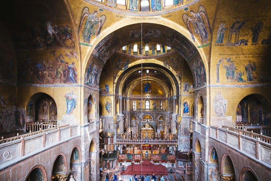 Visite Basilique Saint-Marc Venise