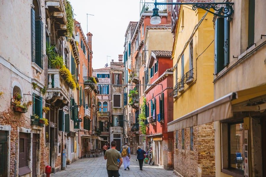 Ruelles Cannaregio Venise