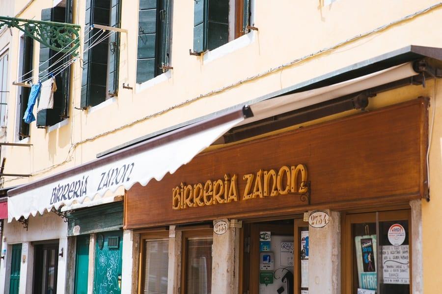Restaurant Birreria Zanon Venise