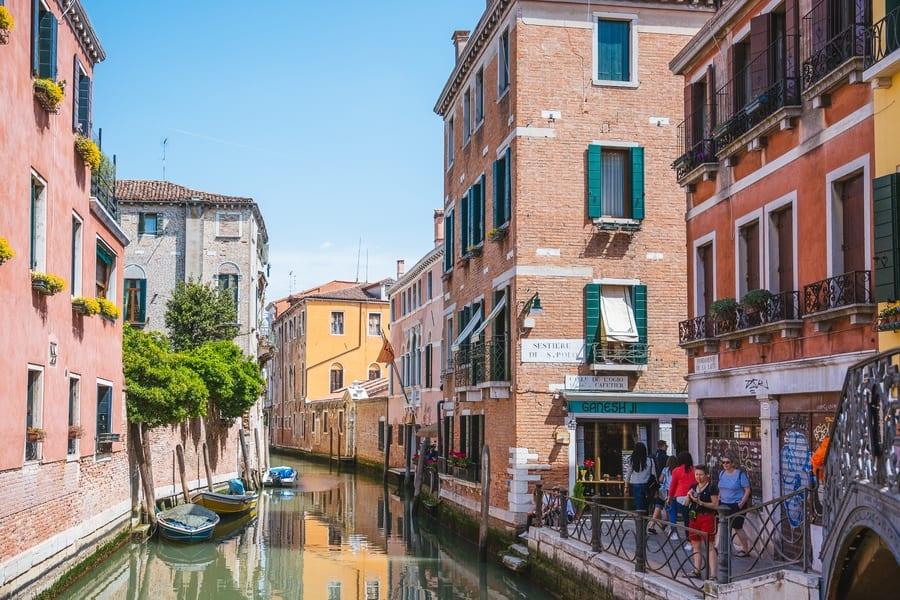 Trouver un hôtel à Venise