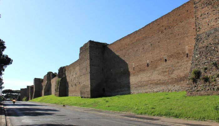 Mur d'Aurélien, Rome
