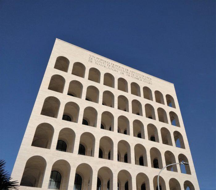Palais de la civilisation italienne, quartier EUR, Rome