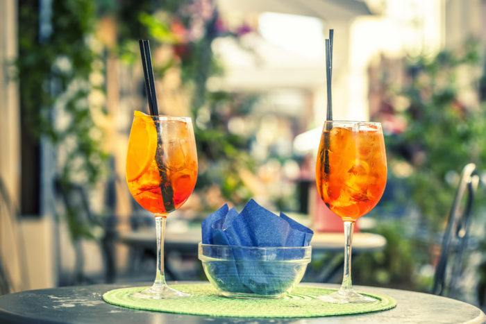 Spritz, aperitivo, Rome