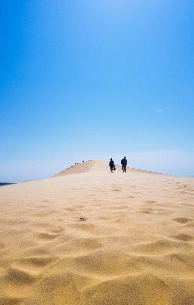 Montée de la dune du Pilat, Bassin d'Arcachon