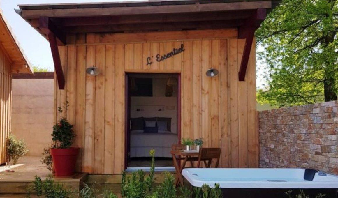 essentiel cabane en bois
